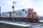 SOO 715 and 714 at 26th and Western Ave.